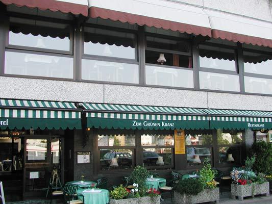 Hotel Weinhaus Cafe Restaurant Zum grünen Kranz